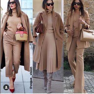 Zara flare pants bloggers favorite